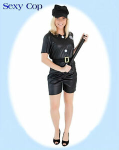 Sexy Female Cop - One Size Fits Most