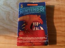 ULTIMATE UNAUTHORIZED NINTENDO GAME STRATEGIES VOLUME 3 BOOK STRATEGY GUIDE HTF!