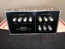 Sony SB-300 Tape Deck Recorder Tapecorder Selector Switch Box