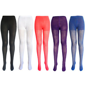 Woman's patterened tights women red cotton tights womens purple crochet tights