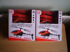 X2(two) I/R CONTROL MINI HELICOPTER 2.5ch WITH GYRO & LIGHTS SHATTER RESISTANT