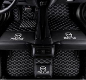 For Mazda 3 5 6 cx-3 cx-5 cx-7 cx-9 mx-5 custom waterproof floor mats