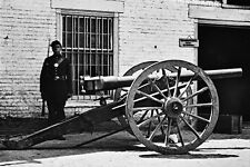 New 5x7 Civil War Photo: Breech Loading Whitworth Gun in Richmond, Virginia