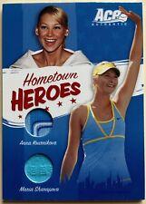 2006 Ace Authentic SHARAPOVA / KOURNIKOVA 103/500 Dual Jersey Hometown Heroes