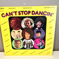 "CAN'T STOP DANCIN' (K-Tel-like Compilation) TeeVee - 12"" Vinyl Record LP - EX"