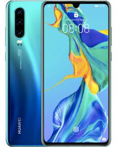 Huawei P30 ELE-L29 128GB Blue Unlocked GSM Android 4G LTE Dual Sim Smartphone
