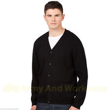 Unbranded Men's Cotton Button-Front Jumpers & Cardigans