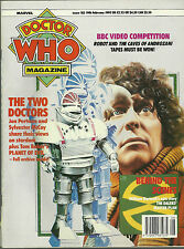 RARE Back Issue - DOCTOR WHO MAGAZINE #183 - TOM BAKER - Pertwee - Troughton
