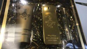 1 Million by Paco Rabanne For Men Gift Set-100ml & 10ml EDT+100ml Shower Gel
