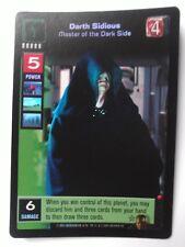 Star Wars Young Jedi ccg UR M/NM Darth Sidious, Master of the Dark Side Ref foil
