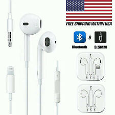 Wired Earbuds Headset Headphones For Apple iPhone 6 7 8 Plus X XS MAX XR 11 Gift