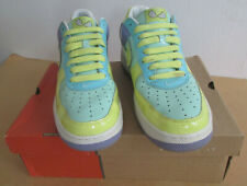 Nike Air Force 1 Premium 312945 371 Shoes Medium Mint Lemon Frost Easter Size 10