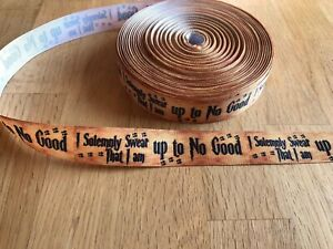 """Harry Potter Ribbon 7/8"""" (22mm) Wide 1m is £1.49 NEW UK SELLER FREE P&P"""