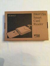 "First USA Visa Smart Card Reader (GCR412) ""Unlock The Power Of Your Smart Card"""