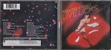 DOUBLE CD 23T THE ROLLING STONES LIVE LICKS DE 2004 TBE