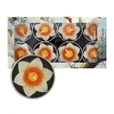 Flower Scented Candles & Tea Lights