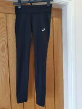 Asics Sport Winter Tight Leggings Run Black Size S UK 6-8 or small teenager BNWT