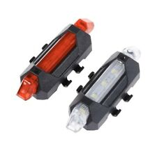 front and rear bike lights