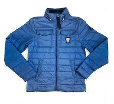 Nickelson Men Puffer Blue Val Di Fassa Dolomiti Jacket Size XL