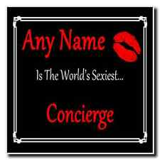 Concierge Personalised World's Sexiest Coaster