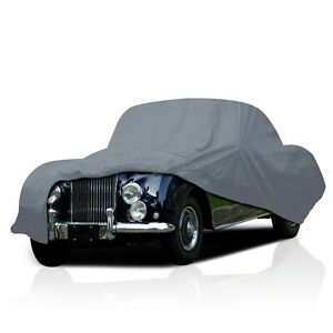 4 Layer Waterproof Car Cover for Bentley Mark V 1939 1940 1941 UV Protection