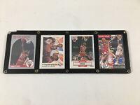 1991 Skybox The Chicago Bulls Starting Team NBA FINALS MICHAEL JORDAN MJ