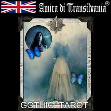 Gothic tarot pagan black magic esoteric rare limited edition hand made painted