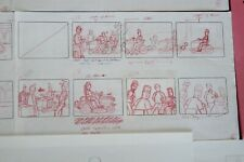 THE KING OF THE  HILL TV SHOW ORIGINAL STORYBOARDS SET USED SKETCHES DRAWING 5