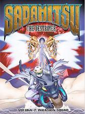 Sadamitsu the Destroyer - Vol. 2: Invasion Squad (DVD, 2004) NEW! FACTORY SEALED
