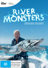 River Monsters : Season Series 8 (DVD, 2017, 2-Disc Set) R4
