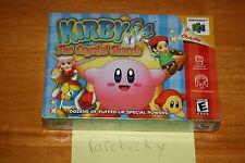 Kirby 64: The Crystal Shards (Nintendo 64 N64) - NEW SEALED NEAR-MINT, RARE!
