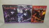 Vampire Hunter D Manga  Volumes 1-3 English  Language  Rare Hard To Find
