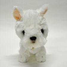 White Terrier Soft Plush cute & realistic