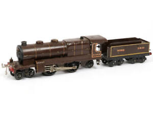 PEU COURANT  HORNBY 'O' (GB) Locomotive à vapeur 31240 avec tender marron
