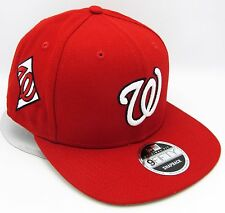 Washington Nationals New Era State Clip Snapback 9FIFTY MLB Mens Cap Hat OSFM