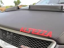Car Hood Bra + LOGO Fits LEXUS IS300 IS200 IS Altezza 99 2000 01 02 03 04 05