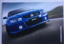 Holden Commodore VZ SV6 SV8 SS Exec Acclaim Brochure  32 color Pages