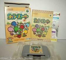 YOSHI STORY NINTENDO 64 GIOCO USATO BUONO STATO BOXED N64 EDIZIONE GIAPPONESE
