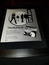 Open Skyz Every Day Of My Life Rare Original Radio Promo Poster Ad Framed!
