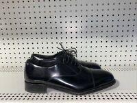 Florsheim Mens Leather Cap Toe Dress Shoes Oxfords Size 11 M Black