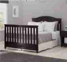 Delta Children Bennington Elite Full Size Bed Conversion Kit-Dark Espresso-RARE