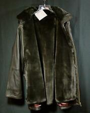 Ladies Mark New York  Lambskin Brown Leather Jacket Coat Size L 12/14 New