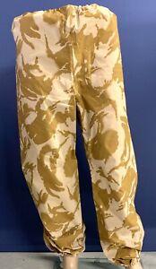 """NEW British Army Desert-Pattern Gore Tex Waterproof Trousers. 44"""" Waist."""