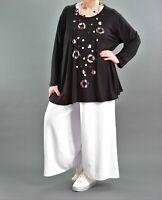 ♦ 5 Farben AKH Fashion Marlene-Hose EG 40,42,44,46,48,50 Leinen/Viskose ♦