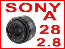 Minolta AF 28mm f2.8 28/2.8 Sony Alpha camera lens wide angle A-mount A700 5D 7D