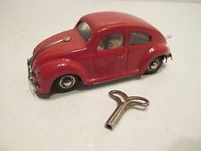 DUX VOLKSWAGEN-OVAL REAR WINDOW NEAR MINT COND MADE IN GREMANY ALL METAL WINDUP