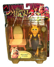 """THE MUPPET SHOW SERIES ONE 6"""" MISS PIGGY ACTION FIGURE CHARACTER 2002 PALISADES"""