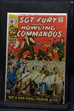 Sgt Fury and His Howling Commandos #91 Marvel Comic 1971 Stan Lee Dick Ayers 6.0