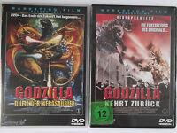 Godzilla - Duell der Megasaurier & Godzilla kehrt zurück - Trask Kult, Osaka