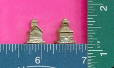 20 wholesale pewter old school house figurines m11155